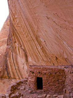 Anasazi Ruins Lake Powell   Defiance House Anasazi Ruins