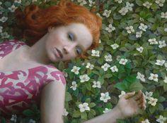 Flowerbed by Aron Wiesenfeld