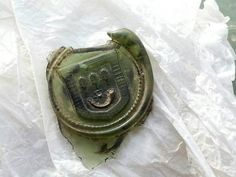 Burnett family seal found at Crathes Castle archaeological dig! credit to  Nat. Trust Scotland @N_T_S