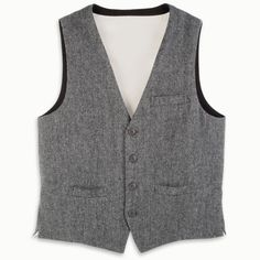 The Genuine Irish Tweed Vest - Hammacher Schlemmer