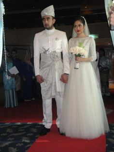 Malay Wedding - Modern songket dress