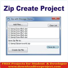 Free Zip Create Project In PHP Projects Download