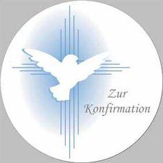 Konfirmation-Aufleger -Taube-  Ø 10 cm aus Zucker