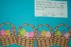 Spring Basket Multiplication mats