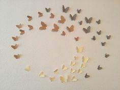 Décoration de papillons en papier