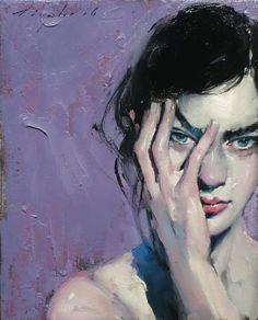 """""""Malcolm Liepke - Female Attitude"""" Malcolm Liepke, Face Art, Attitude"""