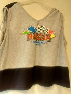 Nascar Woman Tank Top Running Hot Plus size 26/28 #Nascar #TankCami #Casual