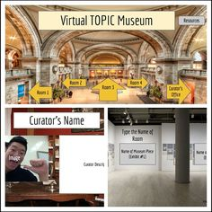 Pic: Virtual Museum template with #GoogleSlides | David Lee EdTech
