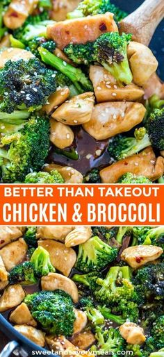 Chicken and Broccoli has all the flavors of Chinese take-out, made in your own kitchen. This easy, one pan Asian dinner is made in less than 30 minutes. food recipes beef and broccoli Chicken and Broccoli Stir Fry [Video] - Sweet and Savory Meals Asian Chicken Recipes, Asian Dinner Recipes, Healthy Dinner Recipes, Cooking Recipes, Chicken Ideas, Honey Chicken, Cooking Ideas, Healthy Asian Recipes, Easy Chinese Recipes