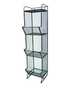 Say hello to pantry storage, sports equipment, or even towels ... I'd use it for potatoes and onions in the pantry - great storage options.