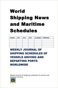 Rationale of maritime schedules as important decision making data http://consultantsalpha.blogspot.com/2015/08/world-shipping-news-and-maritime.html …