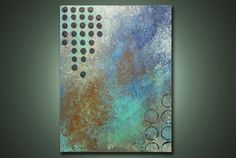 December Nights  2 ft x 15 ft Modern Abstract by NickReitenour, $39.00
