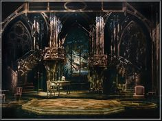 Amadeus Set Design by Richard Finkelstein, Stage Designer