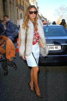 Paris Fashion Week 2014: Olivia Palermo At Andrew GN