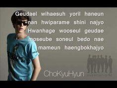 Listen To You - Cho Kyuhyun (Lyrics) - YouTube