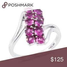 Rhodolite Garnet Spray Rhodolite Garnet, Mine Closed Beautiful Orissa Rhodolite Garnet, just a touch of raspberry hues. The mine for this beautiful gem is closed as all supply is depleted. Done in hypoallergenic, tarnish free Stainless Steel Ring. TGW 2.150 CTs. Sizes 7&8 Jewelry Rings