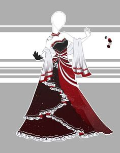 Felt like designing something ballgown-esque. Slightly tilting on maybe designing something kinda Disney reminiscent, kinda leaning on some more sleek dresses. We'll see~ Bought by angelegg