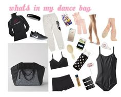 """""""WHAT'S IN MY DANCE BAG"""" by averyhutchins on Polyvore featuring art"""
