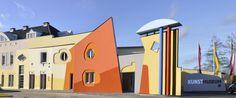 """""""Das Kunstmuseum Waldviertel"""" in Schrems Art Museum, Woodland Forest, Sculptures"""