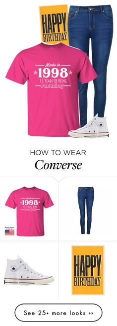 """It's my birthday!!!"" by dacey-jade on Polyvore featuring Ally Fashion and Converse"