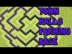 nice Epic Town Hall 8 Farming Base!   Clash Of Clans   Speed Build HDJoin my Clan: xGaming Hope you enjoy my speed build ;) Song: Tobu - Seven....http://clashofclankings.com/epic-town-hall-8-farming-base-clash-of-clans-speed-build-hd/