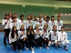 Ginásio Vilacondense conquista 25 pódios na Taça Nacional de Karate