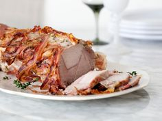 Pancetta-Wrapped Pork Roast from FoodNetwork.com