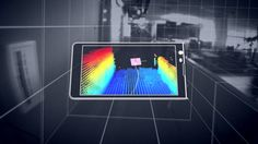 Say hello to Project Tango!Using its sensors, the phone doesn't just track motion, but it can actually build a visual map of rooms using 3D scanning.