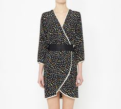 Marc Jacobs Black And Multicolor Dress
