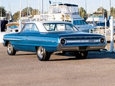 1964 Ford Galaxie 500 XL!!!  Wouldn't even mind it right where it's at, along with the boat behind it!