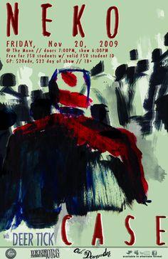 Neko Case Show Poster