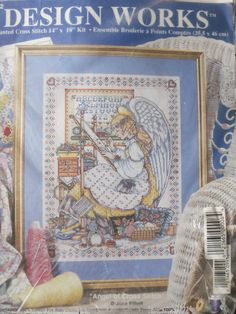 Want this - JOAN ELLIOTT `Angel Of cross stitch` - DESIGN WORKS