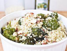 Roasted Broccoli Quinoa from @wannabechefevan