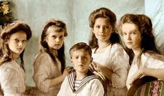 Romanov Children  Source: romanovprincess