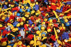 Pile of Lego. Attribution 2.0 Generic