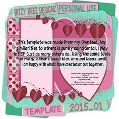 Babs Bitzy Designz PSP: TEMPLATE_2015_01 FREEBIE