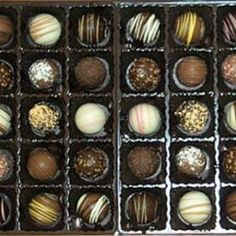 PMG Truffle Assortment 1lb Gourmet Cookies, Gourmet Gift Baskets, Love Chocolate, Truffles, Chocolates, Sushi, Personalized Gifts, Great Gifts, Gift Ideas