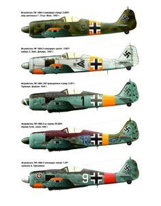 Focke-Wulf Fw 190 Colours I