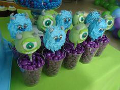 monsters inc cakepops