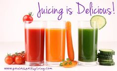 Juicing Is Delicious And A Great Way To Include Vegetables Into Your Diet!  #juicing