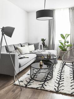 cozy modern minimalist living room design ideas for inspiration 1 Living Room Color Schemes, Living Room Designs, Living Room Decor, Modern Minimalist Living Room, Modern Living, Minimalist Furniture, Simple Living, Small Living Rooms, Living Furniture