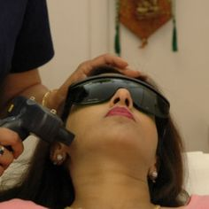 Laser hair removal for my upper lip and under arms. BEST investment ever! No regrets. Painful but worth it.