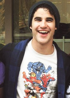 And just when I thought I couldn't love him more, he wears a superhero shirt.