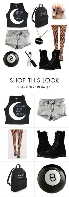 """""""Grunge"""" by dreamingqueen on Polyvore featuring H&M and Frye"""