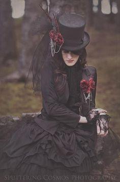 Gothic costume Elegance in Darkness