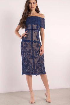 Stella Midi Dress at Tobi.com #shoptobi