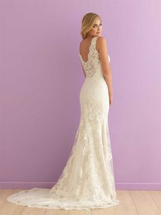 Bridal Gown on Sale at Ella Park Bridal | Newburgh, IN | 812.853.1800 | Allure Romance - Style 2901 in Ivory in size 12