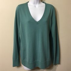 Final price .      Ann  Taylor size L sweater 100% Extrafine Merino Wool Good condition no signs of wearing Ann Taylor Sweaters