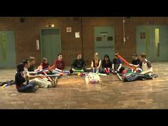 Little Drummer Boy - The Boomwhacker Orchestra...  Looks like F.W.J school to me. Like the bell tree.