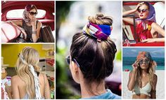 Too lazy to make hairstyles? Then here are 7 stylish & easy ways to use a hair scarf and get a new hair look. So click here to get Get the 7 hair scarfs looks.